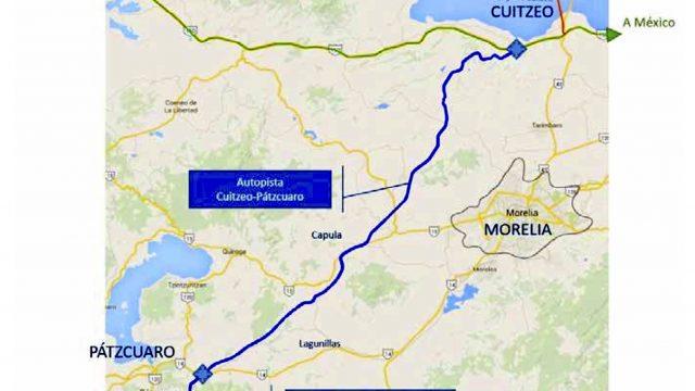 Entra en operación autopista Cuitzeo-Pátzcuaro